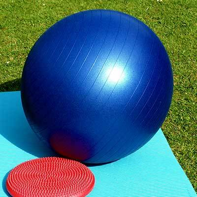 Exercise Ball - Muscle Toning for Home Fitness